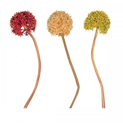 Цветок искусственный Аллиум 92 см
