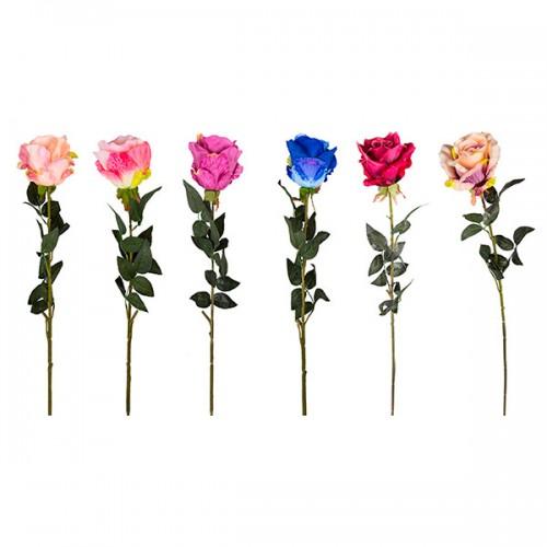 Роза декоративная искусственная 95 см