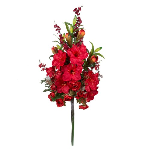 Букет искусственных цветов Пламя 150х70х50 см