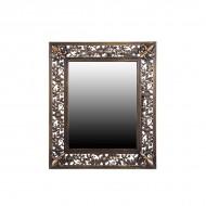 Зеркало настенное металлическое 67х57х2,5 см