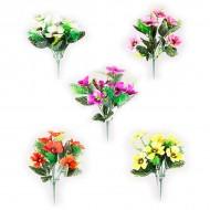 Букет из искусственных осенних цветов 30 см