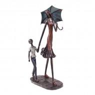 Статуэтка Дама с ребёнком 37х18.5х10 см