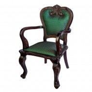 """Кресло """"Классик"""" с мягкой спинкой и подлокотниками 95х52х52 см"""