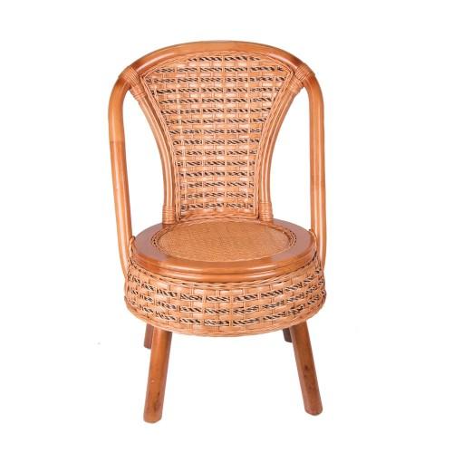 Кресло из ротанга 70х37х37 см
