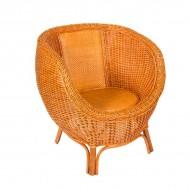 Кресло из ротанга 83х76х68 см