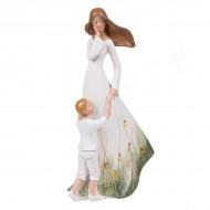 Статуэтка Девушка с ребёнком 30.5х17х9 см