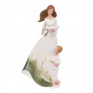 Статуэтка Девушка с ребёнком 31х15.5х9.5 см