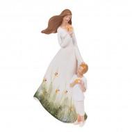 Статуэтка Девушка с ребёнком 25.5х15.5х7 см
