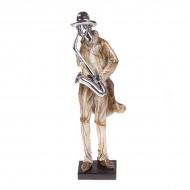 Статуэтка Музыкант с саксофоном 40х12х10 см