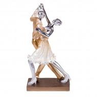 Статуэтка Танцующая пара 29х15.5х10 см