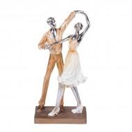 Статуэтка Танцующая пара 23х11х6 см