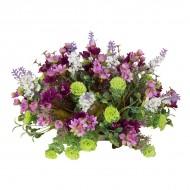 Композиция Полевые цветы на блюдце