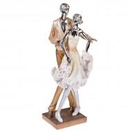 Статуэтка Танцующая пара 40х14х10 см