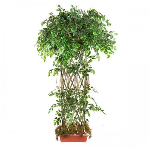 Искусственное дерево Фикус в горшке 185 см