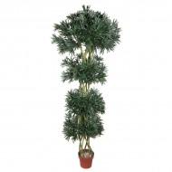 Искусственное дерево Подокарпус в горшке 180 см