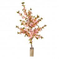 Искусственное дерево Сакура цветущая розовая 187 см