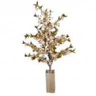 Искусственное цветущее светло-розовое дерево 187 см
