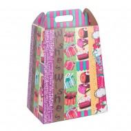 Пакет-коробка для подарков 44х24 см