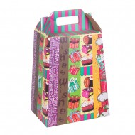 Пакет-коробка для подарков 35х20 см