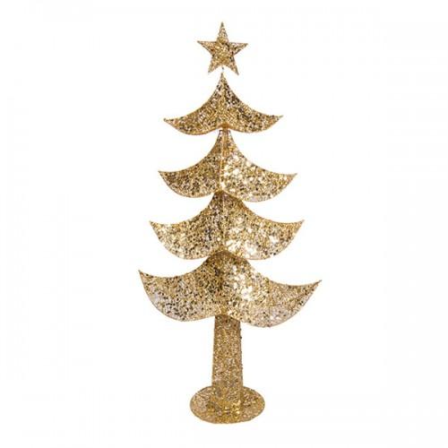 Новогоднее украшение Ёлка с гирляндой 120 см