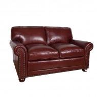 Диван AY Lazzaro двухместный кожаный 165х100х90 см