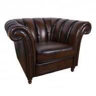 Кресло AY Lazzaro кожаное 120х100х78 см