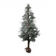 Дерево искусственное Можжевельник в снегу 165 см
