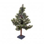 Дерево искусственное Ель в снегу 68 см
