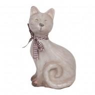 Статуэтка Кот с шарфиком 18х10х7,5см