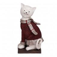 Статуэтка Кот в свитере 26х12х8,5см.