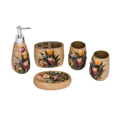 Набор аксессуаров для ванной 5 предметов