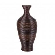 Ваза напольная плетёная декоративная 65х28 см