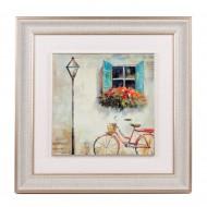 Панно настенное Велосипед под окном