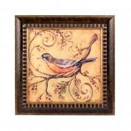 Панно настенное  Птица 40х40 см