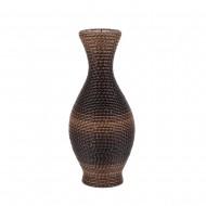 Ваза  плетёная декоративная 41х16 см