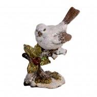Статуэтка Птичка на ветке 13х12х7см