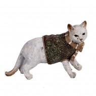 Статуэтка Кот в свитере 11х17х6см