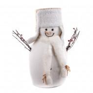 Новогоднее украшение Снеговик 25х41х50 см