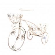 Подставка для цветов Велосипед  44х61х24 см
