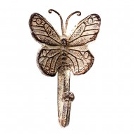 Вешалка настенная Бабочка 15х9,5 см