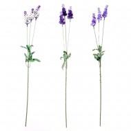 Цветок искусственный Лаванда 58 см