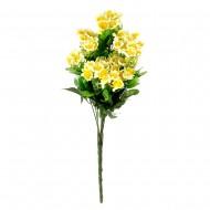 Букет из желтых искусственных цветов 50 см