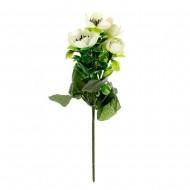Букет из белых искусственных цветов 25см