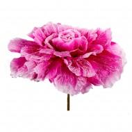 Искусственная головка розы 75см