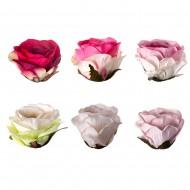 Искусственная головка розы 10 см