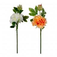 Цветок искусственный Пион 50 см