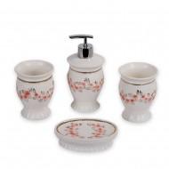 Набор аксессуаров для ванной 4 предмета