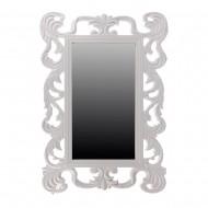 Зеркало настенное белое 60х40 см