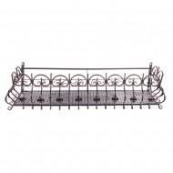 Короб балконный подвесной металлический 100х31х29 см