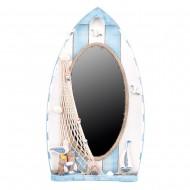 Зеркало настенное Морское 52х29 см